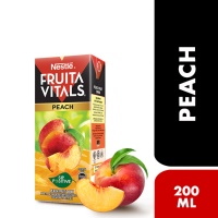 Nestle Fruita Vitals Peach Nectar - 200ml