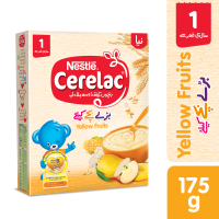 Nestle Cerelac Yellow Fruits (1+ Years) - 175gm