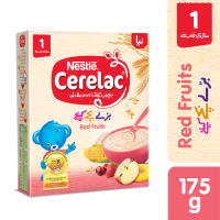 Nestle Cerelac Red Fruits (1+ Years) - 175gm