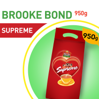 Brooke Bond Supreme Tea Pouch - 950gm