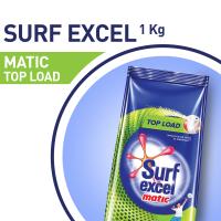 Surf Excel Matic Top Load Detergent Powder - 1kg