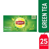 Lipton Green Tea Pure and Light (Pack of 25)