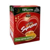 Brooke Bond Supreme Tea (15% Extra) - 190gm