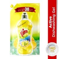 Vim Dish Wash Active Gel Value Pack - 140ml