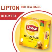 Lipton Yellow Label Tea Bags (Pack of 100) - 200gm