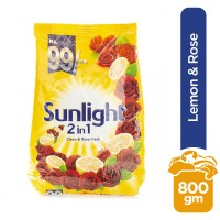 Sunlight Clean and Rose Fresh (2 in 1) - 800gm
