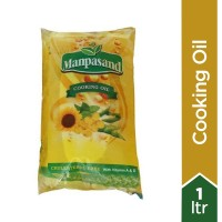 Manpasand Cooking Oil Pouch Premium - 1Ltr