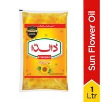 Dalda Sun Flower Oil Fortified - 1L ~ Pouch