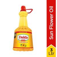 Dalda Sun Flower Oil 3 Ltr Bottle
