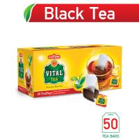 Vital Premium Black Tea Bags (Pack of 50) - 100gm