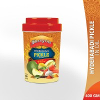 Shangrila Hyderabadi Pickle in Oil - 400gm