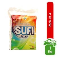 Sufi Special Detergent Soap (Pack of 4) - 1kg