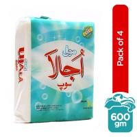 Sufi Ujala Detergent Soap (Pack of 4) - 1kg