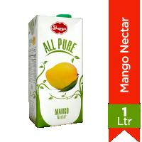 Shezan All Pure Mango Juice - 1Ltr