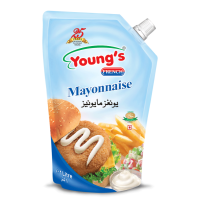 Young's French Mayonnaise - 1Ltr