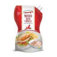 Young's Mayo Red Chilli 500ml