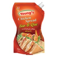 Young's French Chicken Spread BBQ - 500ml