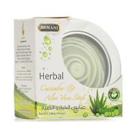 Herbal Cucumber and Alov Vera Soap Tin Pack - 100gm