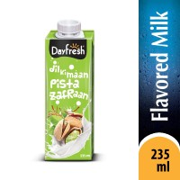 Milk Pista Zafraan - 235ml
