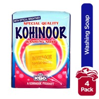 kohinoor Special Quality Washing Soap (Pack Of 4)