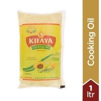 Kifaya Cooking Oil - 1L - Poly Pouch