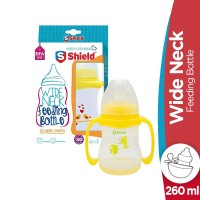 Shield Wide Neck Feeding Bottle - 260ml