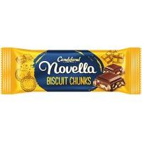 Novella Biscuit Chunks Rs-15 Box 24 Pcs