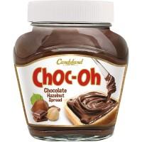 Choc-Oh Chocolate Hazelnut Spread Jar 350gms
