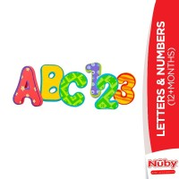 Nuby Bath Time Letters And Numbers (12+m)