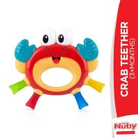 Nuby Crab Teether (3+Months)