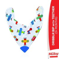 Nuby Dribblr Bip With Teether (3+Months)