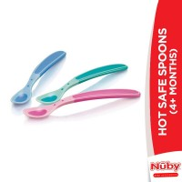 Nuby Hot Safe Spoons (4+m)
