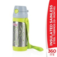 Nuby 12+Months Insulated Sainless Steel Thermos - 360ml