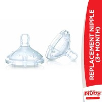 Nuby Replacement Nipple (3+m)