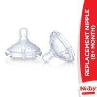 Nuby Replacement Nipple (6+Months)