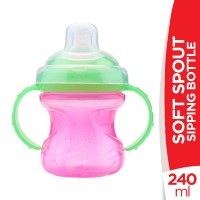 Nuby Soft Spout Sipping Bottle - 240ml