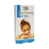 Cool and Cool Deep Cleansing Nose Strips (Pack of 6)