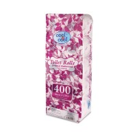 Cool and Cool Printed Embossed Toilet Rolls 400s (Pack of 10)
