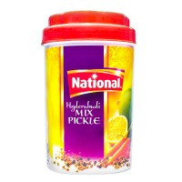 National Hyderabadi Mix Pickle Jar - 1kg