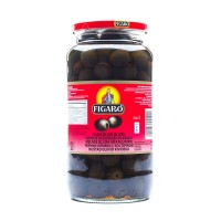 Figaro Black Pitted Olives - 920gm