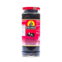 Figaro Black Pitted Olives - 340gm