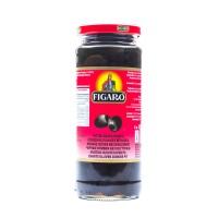 Figaro Black Whole Olives - 340gm