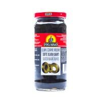 Figaro Black Sliced Olives 240g