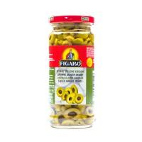 Figaro Green Sliced Olives - 240gm