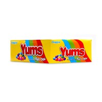 Candyland Yums Fruity Chews (Pack Of 18)