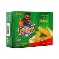 Kernel Pop Popcorn Natural 90g (pack of 3)