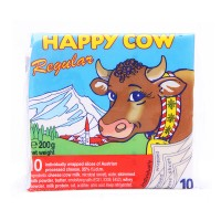 Happy Cow Slice Cheese Regular 10 Slices