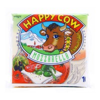 Happy Cow Slice Cheese Mozzarella (10 Slices)