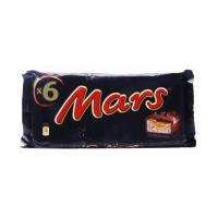 Mars Chocolate 51g (Pack of 6)