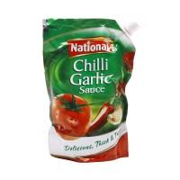 National Sauce Chilli Garlic Pouch 500g